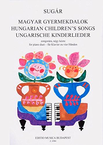 Ungarische Kinderlieder Fur Klavier Zu Zwei Hand Piano
