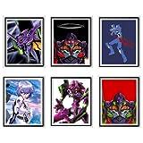 MS Fun Evangelion Fallen Angel Blood Robot Unit 01 Rei