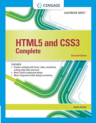 Compare Textbook Prices for HTML5 and CSS3, Illustrated Complete 2 Edition ISBN 9781305394049 by Vodnik, Sasha