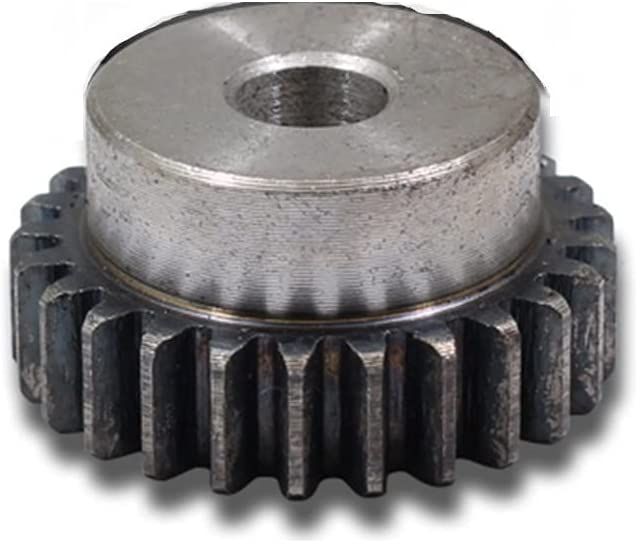 YINGJUN 1PC Convex OFFicial mail order Gear Pinion 2Module Carbon 10mm New color 23Teeth Hole