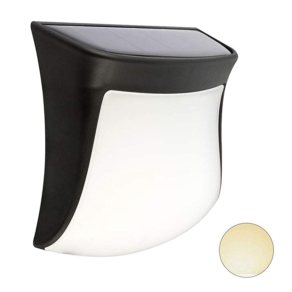 スタンド鳴り響く不測の事態Elayam ソーラーライト 太陽光発電 夜間自動点灯 防水 LEDライト 設置簡単 電球色