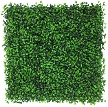 Artificial Boxwood Hedge Privacy Hedge Screen Uv Protected Faux Greenery Mats Boxwood Wall Suitable For Both Outdoor Or Indoor Garden Backyard And Home Décor 20 X 20 Inch 12 Piece Amazon Co Uk Kitchen