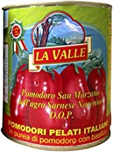 La Valle San Marzano D.O.P. Italian Peeled Tomatoes 6-pack of 28 oz cans