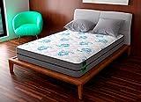 Imperial Relax | Colchón Ecopure Viruclean Silver 25Cm | Tecnología Autohigienica | Alta Densidad | Reversible (Invierno/Verano) | Alta Transpiración | Antibacteriano | Todas Las Medidas (200x200)