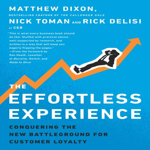 The Effortless Experience audiobook cover art