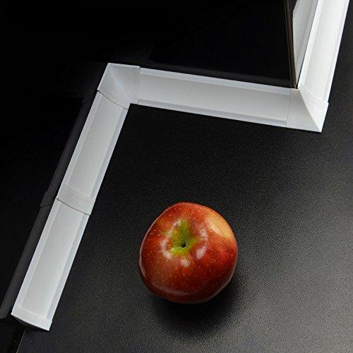 SET accesoires pour joint de plan travail - Couleur: blanc