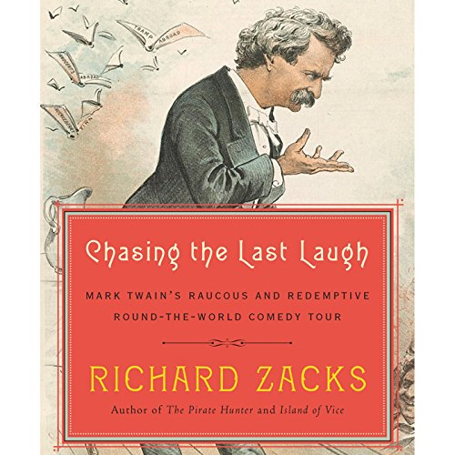 Chasing the Last Laugh audiobook cover art