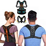 Correcteur de posture homme et femme, [Lot de 2] corset de correction redresse dos pour un bon maintien des épaules,lombaire et ceinture abdominale pour éviter le mal de dos, idéal pour le sport
