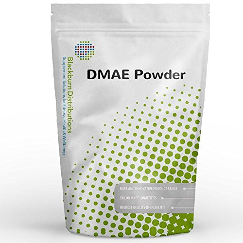 DMAE Powder 250g | Pure Natural DEANOL L-BITARTRATE | Free Delivery by Blackburn Distributions