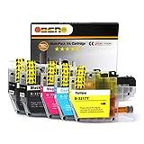 OBENO - 1 Set 1 BK - LC3217 LC3219 5 Pack Cartucho de Tinta Compatible para Brother MFC-J5330DW/ J5335DW/ J5730DW/ J5930DW/ J6530DW/ J6930DW/ J6935DW(2 Black, 1 Cyan, 1 Magenta, 1 Amarillo)
