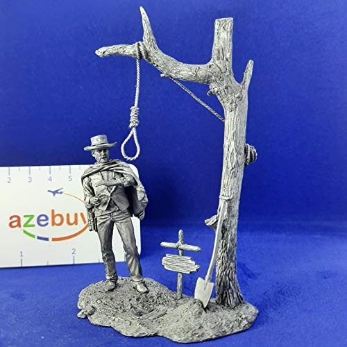 Clint Eastwood The Good, The Bad and The Ugly 1/32 Scale Unpainted Tin Figure