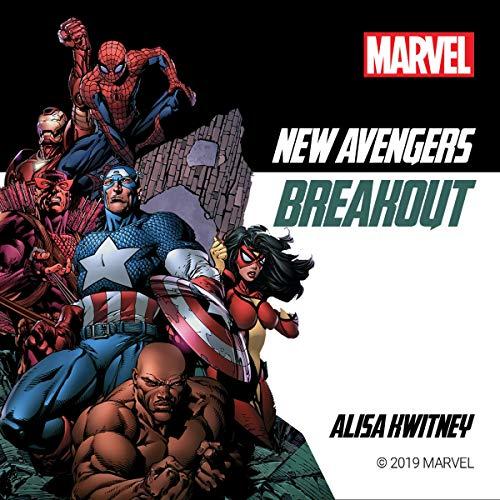 New Avengers: Breakout audiobook cover art