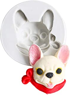 Corgi  Dog Silicone Mold for Fondant Chocolate Candy Gum Paste Polymer Clay Resin Kitchen Baking Sugar Craft Cake Cupcake Decorating Tools