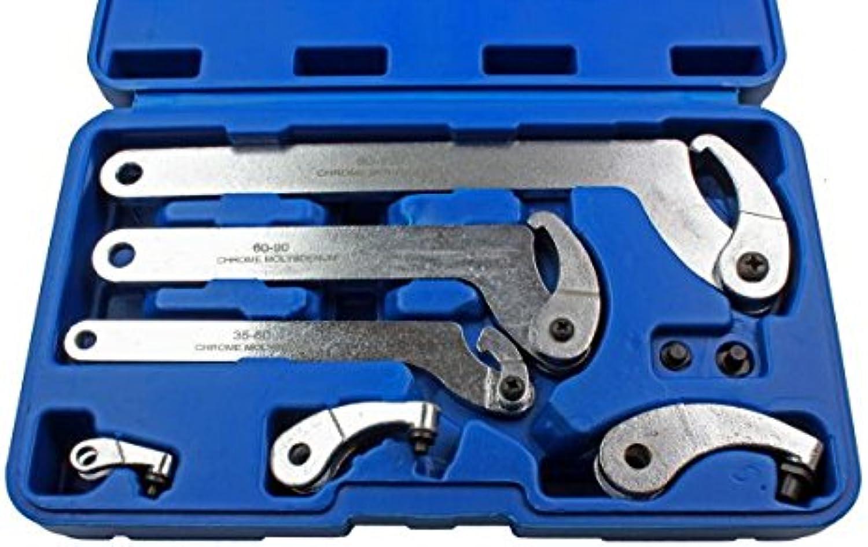 US PRO Verstellbare Haken und Pin Schlüssel Schlüssel Schlüssel Schlüssel C Schlüssel 35–120 mm 6 6811 B07CCZJ2XD | Verkaufspreis  44a1be