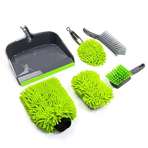 AmazonBasics - Equipo de limpieza para automóvil