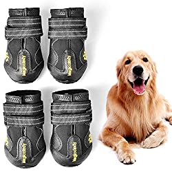 WUXIAN Waterproof Dog Shoes