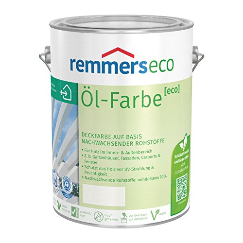 REMMERS ECO OEL-FARBE - 2.5 LTR (TIEFSCHWARZ RAL 9005)