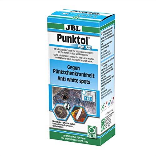 JBL Punktol Plus 125 Heilmittel gegen Pünktchenkrankheit für Aquarienfische, 100 ml