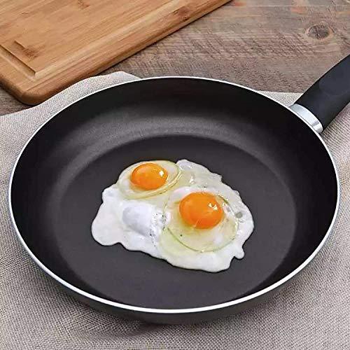 hwljxn Sartén para sartén Antiadherente Mini Gruesa Filete de Carne de cocción Plana de Hierro panqueque Huevo freyer Cocina Utensilios de Cocina (Size : 30cm)