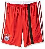adidas Kinder Torwartshorts FC Bayern Goalkeeper Ausweich-Short Youth, Poppy/Black/White, 164