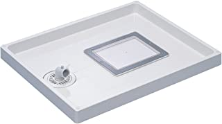 SANEI 【洗衣机面包】 带点检口 外部尺寸640×800mm H542-800