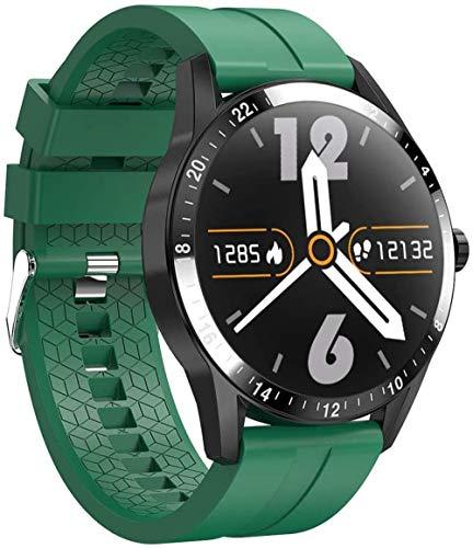 Reloj inteligente para hombre, resistente al agua, Bluetooth, llamada, presión arterial, pulsera de fitness, reloj inteligente B.
