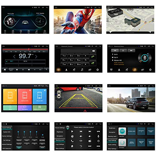 ANKEWAY 7 Inch Android 9.1 Car Stereo