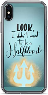 iPhone 6 Plus/6s Plus Pure Clear Case Cases Cover Percy Jackson Quote