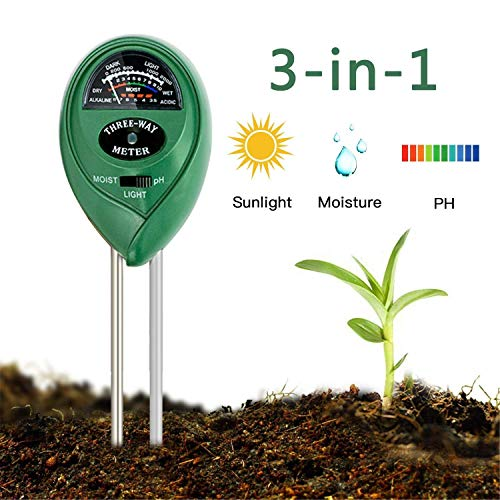 Review Of Enviroment Soil Meter, 3-in-1 Soil Test Kit for Rapitest Plant PH Moisture Sensor Meter Li...