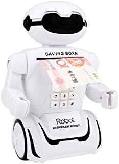 Huchas Originales Grandes para Adultos Infantiles,Gusspower Robot huchas Creativo Juguete electrico Lámpara de Mesa de música Robot Interactivo
