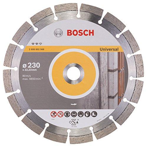 Bosch Professional Diamanttrennscheibe Expert für Universal, 230 x 22,23 x 2,4 x 12 mm, 2608602568