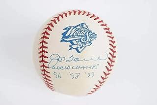 joe torre signed baseball