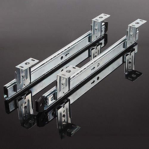 Gxing 350mm Bandeja De Teclado Deslizante, para Ordenador Escritorio, con Extracto para Teclado, Ratón Y Laptop