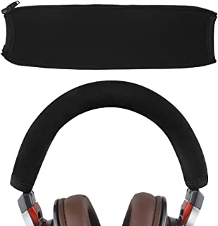 Geekria ヘッドバンド カバー オーディオテクニカ ATH MSR7, MSR7NC, MSR7BK, MSR7GM, M50 等 ヘッドホン 用 簡単なインストール