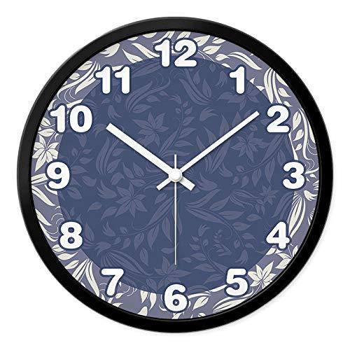 Generic Lojnbd Niedliche Design Holz Runde Wanduhr Kinderzimmer Kreative Uhr Mit Niedlichen Zifferblatt 30 cm-I