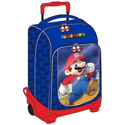 Zaino Trolley Scuola Super Mario Bros