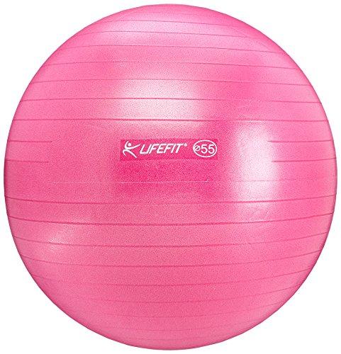 LIFEFIT Gymnastikball Anti-Burst, Bordo, 75 cm