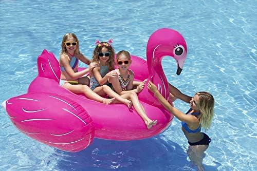Poolmaster Jumbo Swimming Pool Float Rider Flamingo product image