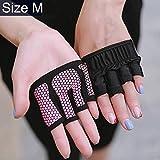 Balletto latino scarpe basse morbida suola Half Finger Yoga Gloves Protezione antiscivolo for palmo...