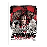 Wall Editions Art-Poster - The Shining - Joshua Budich