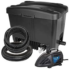 T.I.P. Pond yttre filter WDF 10000 UV 11, UV-C 11 watt, för dammar upp till 10.000 liter