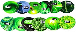 ONE Glowing Pleasures Glow-in-The-Dark Condoms with Pocket/Travel Case-24 Count (Silver Case)