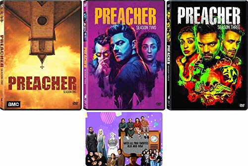 Preacher: TV Series Seasons 1-3 DVD Collection with Bonus Art Card