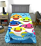 Exclusive Ocean Nautical Themed Baby Sharks Family Kids Blanket