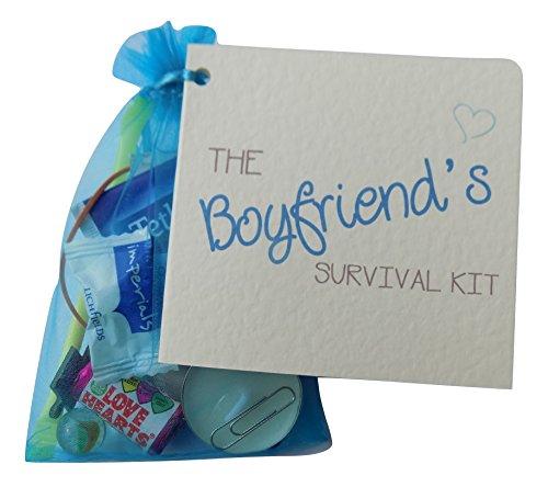 Boyfriend Novelty Survival Kit. Love Token, Christmas, Valentines Day,...