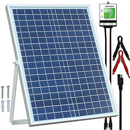 SOLPERK 20W Solar Panel kit review