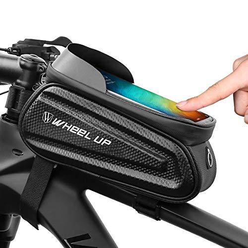 MidGard Multifunktions-Fahrrad-Rahmentasche wasserabweisend Smartphone-Halterung, Handy-Tasche für Fahrrad, eBike, MTB, Citybike