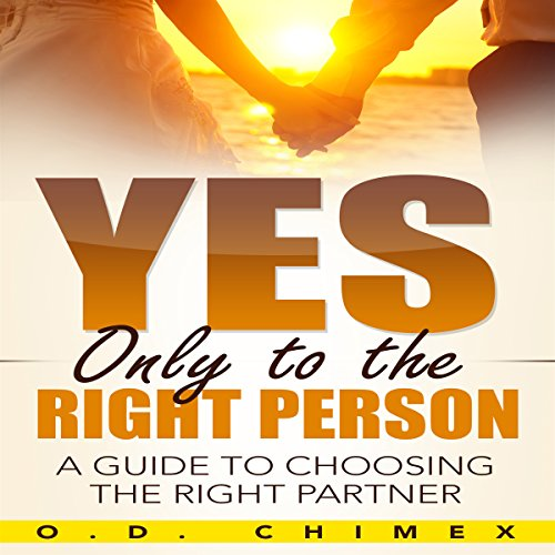 Yes, Only to the Right Person audiobook cover art