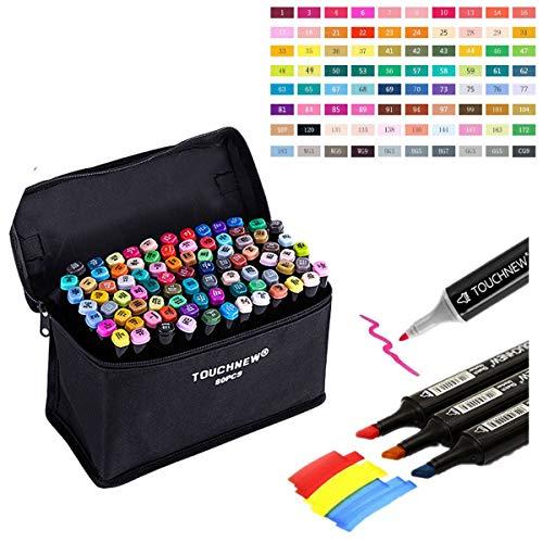 Togood 80 Art Sketch - Rotuladores dobles para colorear y pintar
