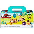 Hasbro A7924 Play-Doh Super Colour Pack inc 20 Tubs of Dough- sensory and educational craft toys for kids, boys, girls- Ages 2+, Yellow, 20 pack